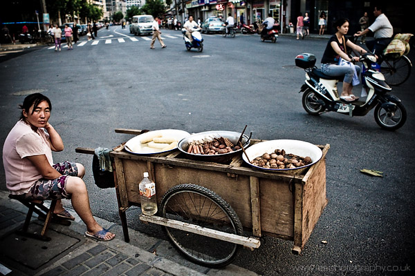 Shanghai Street Food Seller