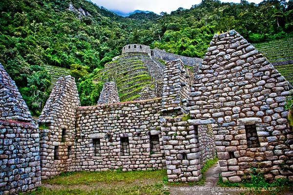 Inca Ruins Peru