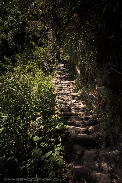 Peru Inca Trail Steps