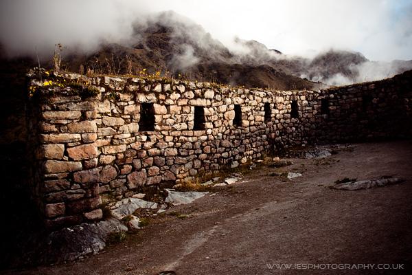 Inca Ruins Peru Trail