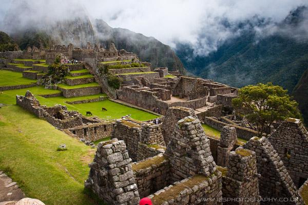 Machu Picchu Ruins Peru Inca Trail