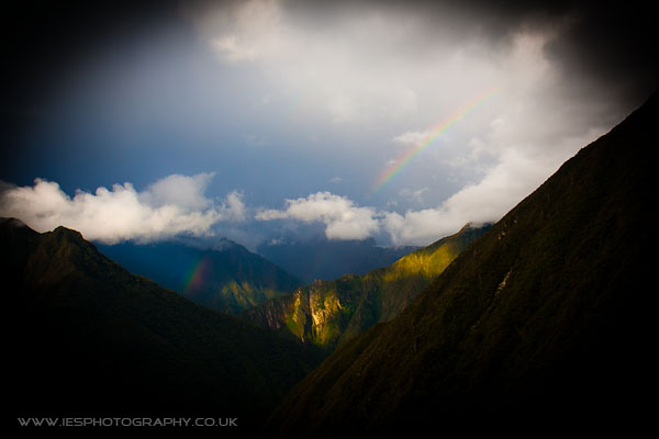 rainbows Peru