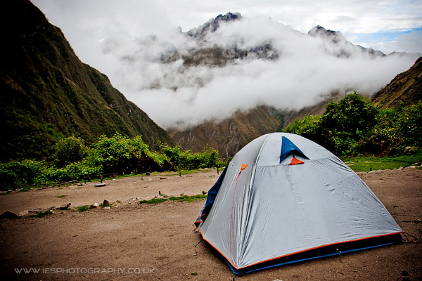 Peru Inca Trail Camp Tent