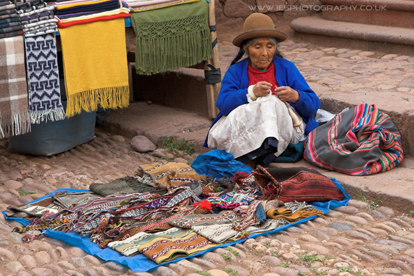 Peru Market Women Seller