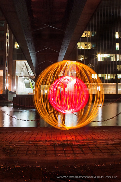Light Painting Orbs